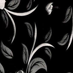Μελαμίνη High Gloss Gizir 6174 Black Chinese Flower