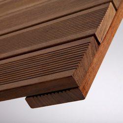 Ξύλινο πάτωμα deck εξωτερικού χώρου Ipe