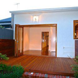 Ξύλινο πάτωμα deck εξωτερικού χώρου Kempas