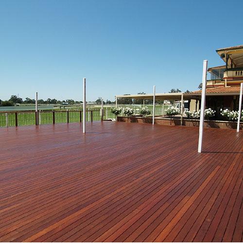 Ξύλινο πάτωμα deck εξωτερικού χώρου Merbau