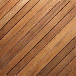 Ξύλινο πάτωμα deck εξωτερικού χώρου Teak