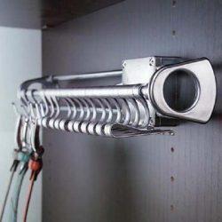 Αξεσουάρ - εξοπλισμός ντουλάπας Ζωνοθήκη συρόμενη Emuca