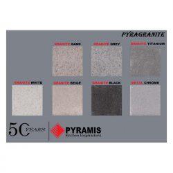 Νεροχυτής Pyramis Χρωματολόγιο