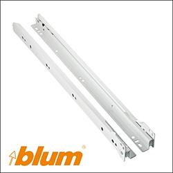 Οδηγός συρταριού απλός με ροδάκι Blum